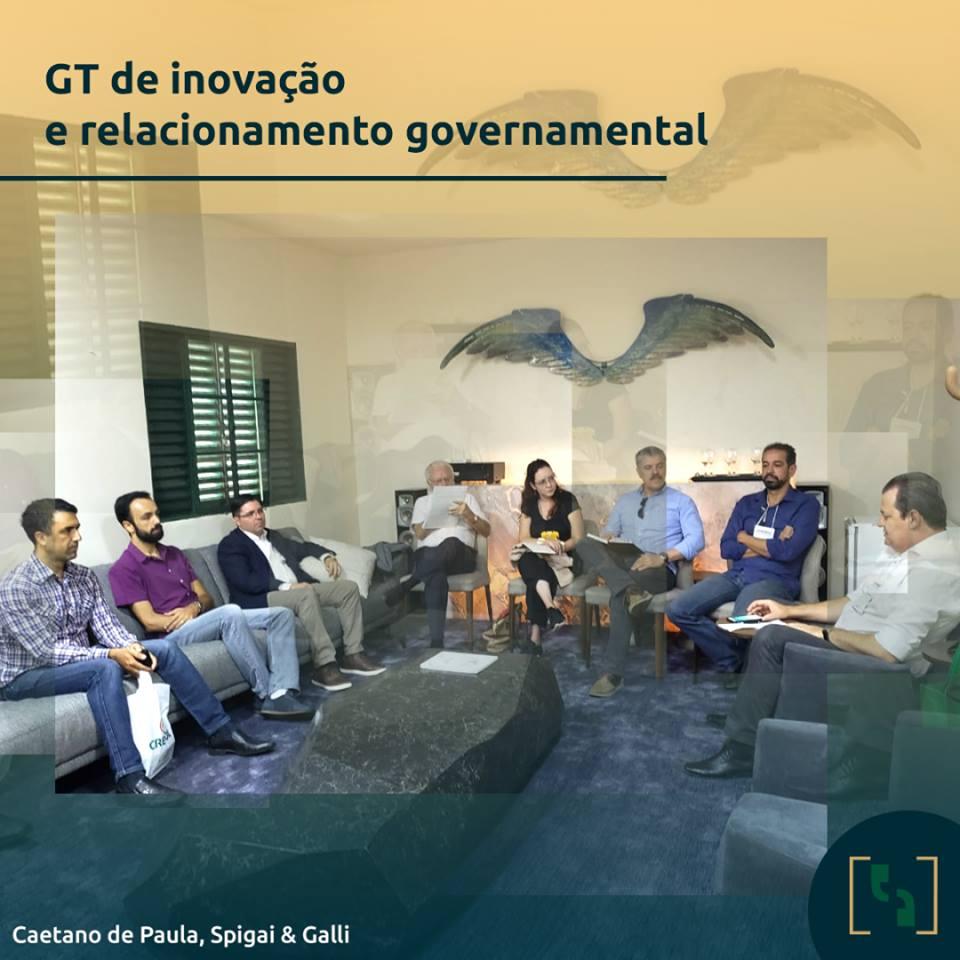 GT DE INOVAÇÃO E RELACIONAMENTO GOVERNAMENTAL